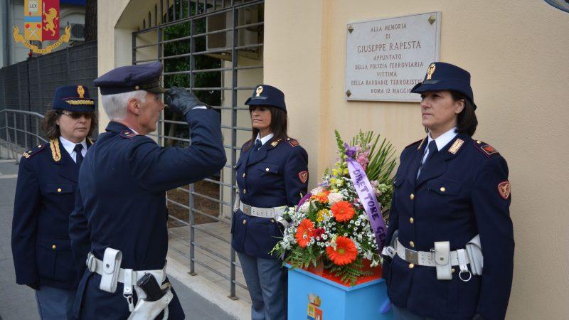 La commemorazione del 37^ anniversario dell'omicidio Giuseppe Rapesta