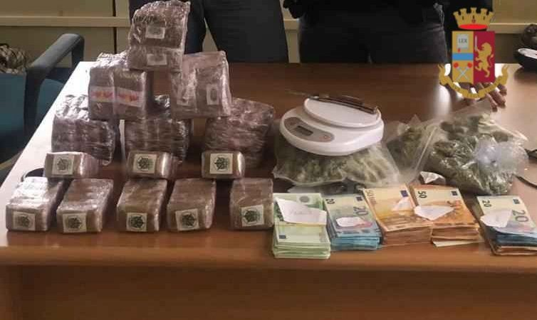 San Basilio: sequestrati oltre 8 kg di stupefacente tra hashish e marijuana