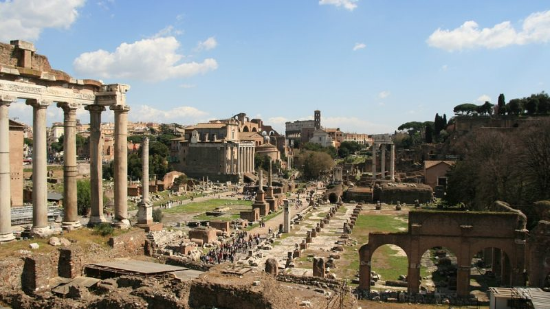 Inaugurazione del percorso dal Foro Romano ai Fori Imperiali
