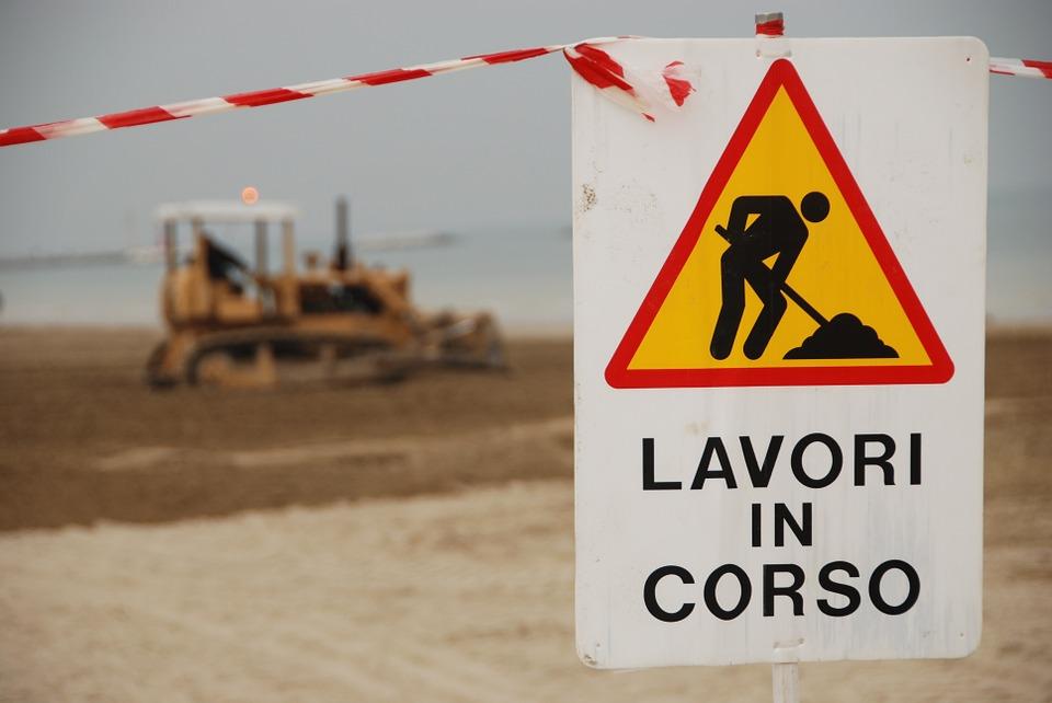 Piazza Bainsizza: lavori in corso