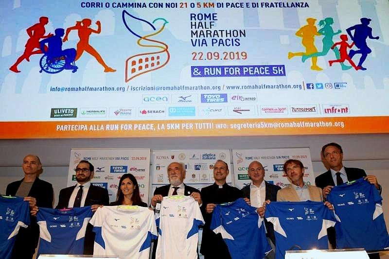 Rome Half Marathon: incontro tra cinque confessioni religiose