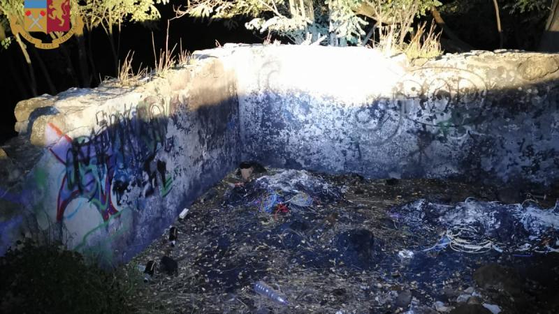 Tor Carbone: appiccavano roghi tossici nel parco della Caffarella