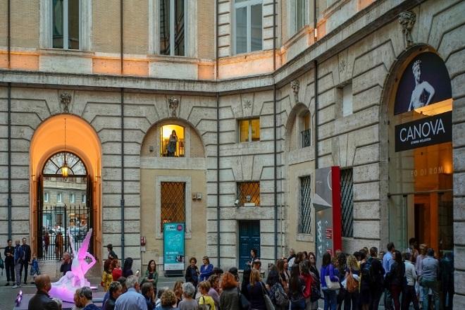 Canova, eterna bellezza: la mostra al Palazzo Braschi