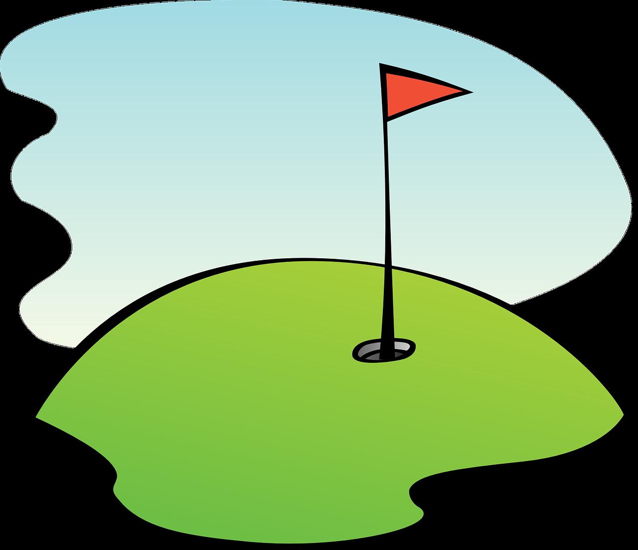 Donald Trump si consola giocando a golf